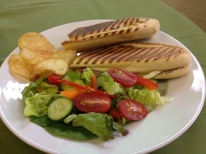 Paninis with various fillings
