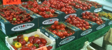 West Essex Tomatoes from Farm Shop Lyne