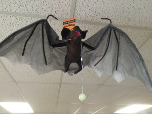 Halloween Flying Bat 2016