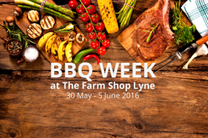BBQ Week at The Farm Shop Lyne, Chertsey - Surrey