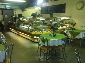 The Tea Room at The Farm Shop Lyne