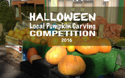 Pumpkin Carving Competition at The Farm Shop Lyne
