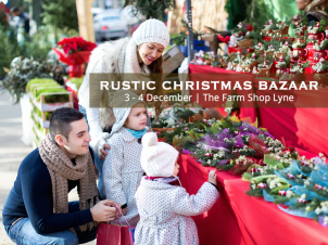 Rustic Christmas Bazar at The Farm Shop Lyne