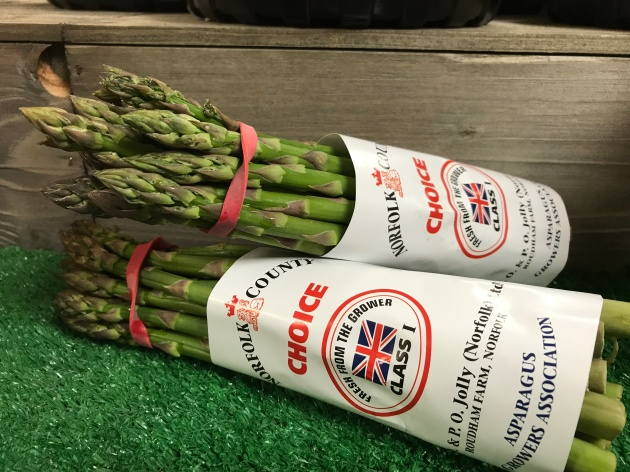 Farm Shop Asparagus English