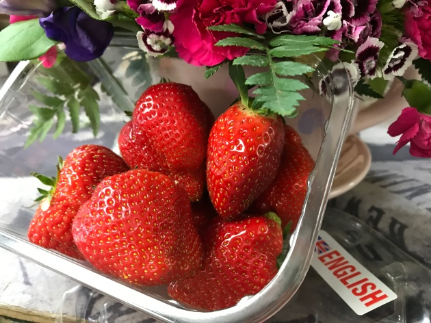 Farm Shop - Strawberry May 2017
