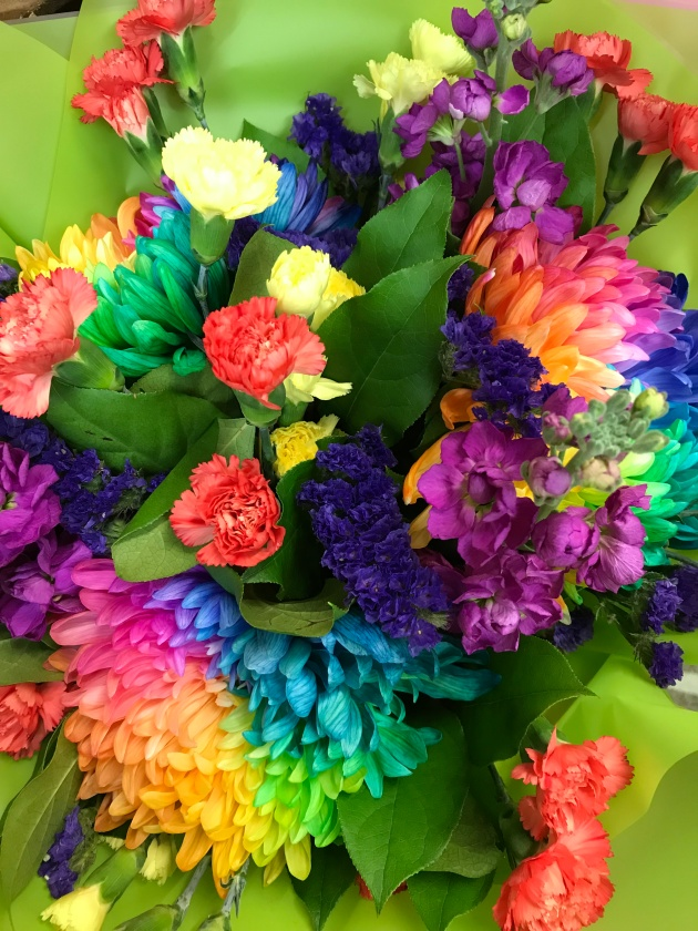 FBSJ - colourful bouquet Oct 17
