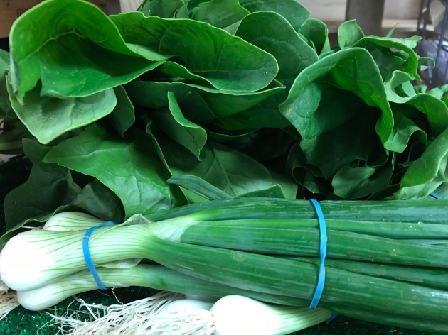 Spinach & Spring Onion English
