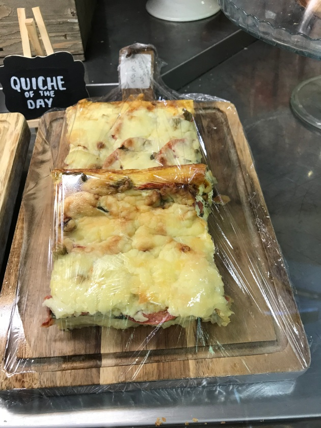 Tea Room Home Made Quiche